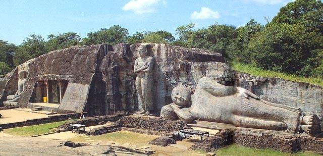 Полоннарува город в Шри-Ланке